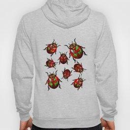 Agitated Lady Beetles Hoody
