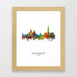 Ho Chi Minh City Vietnam Skyline Framed Art Print
