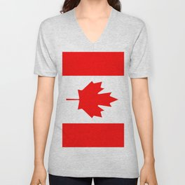 Flag of Canada Unisex V-Neck