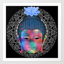 Spiritual Buddha Art Print