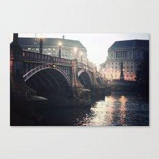 Evening Bridge Canvas Print