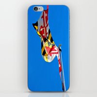 maryland iPhone & iPod Skins featuring Maryland Pride by Kelsey Hunt