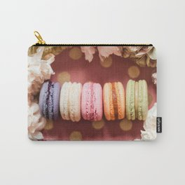 Sweet French Macaroons Carry-All Pouch