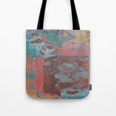 Peeling Pastel Tote Bag