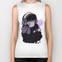 goth Biker Tanks featuring Goth Tea by Princess Misery