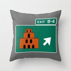 EXIT 8-4 Throw Pillow