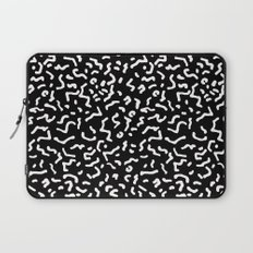 Retro Themed Repeated Pattern Design Laptop Sleeve