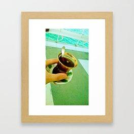 Memories of a Tea. Framed Art Print