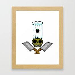 Boney Chef Framed Art Print