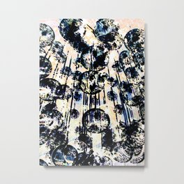 Popping Bubbly Metal Print