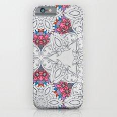 Dreamy Girl Lounging Kaleidoscope  Slim Case iPhone 6s