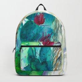 Llama in cacti Backpack