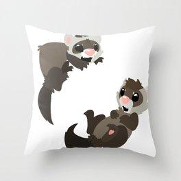 Ferrapy Throw Pillow