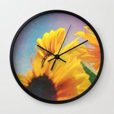 Summer Sunshine Day Wall Clock