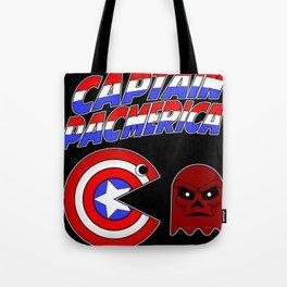 Captain Pacmerica Tote Bag