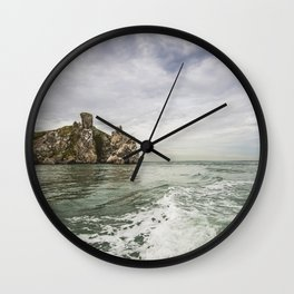 Irish cliffs in Howth Wall Clock