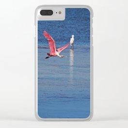 Heart Raider Clear iPhone Case