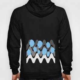 Kitschy Blue Angel Fish Hoody