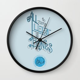 All I got left is my Bones Wall Clock