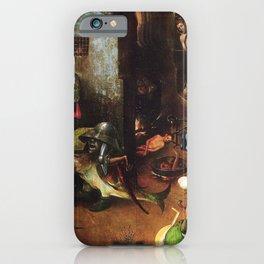 The Last Judgement - Hieronymus Bosch iPhone Case