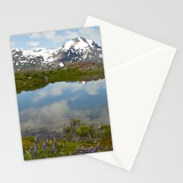 Alpine Pond Stationery Cards