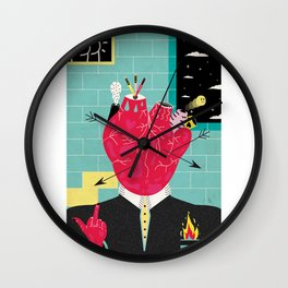 Lovers gonna love, Haters gonna hate Wall Clock