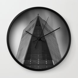 One World Trade Center in New York City Wall Clock