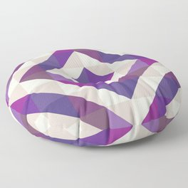 Patchwork Purples Floor Pillow