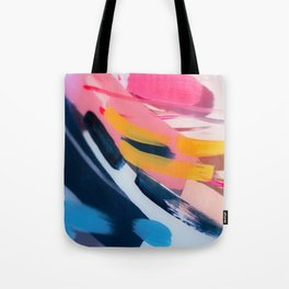 Even After All  #1 - Abstract on perspex by Jen Sievers Tote Bag