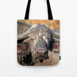 Big African Buffalo - Africa wildlife Tote Bag
