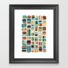 Color apothecary Framed Art Print