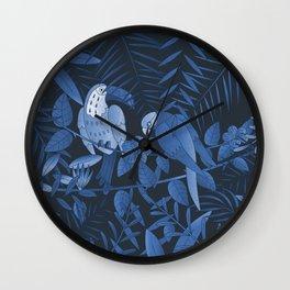 Tropical Paradise Pattern 3 Wall Clock