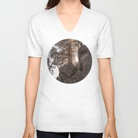 oregon V-neck T-shirts featuring Bend, Oregon by A Wandering Soul