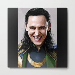 Loki -There Are No Men Like Me XVI Metal Print