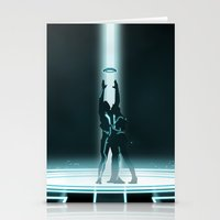 tron Stationery Cards featuring TRON PORTAL by ED13