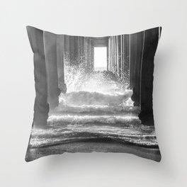 Making Waves Throw Pillow