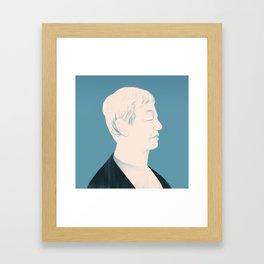 Architect Portraits: Kengo Kuma Framed Art Print