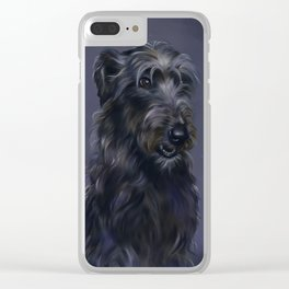 Wolfhound Clear iPhone Case