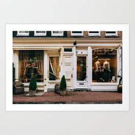 Centrum - Amsterdam, The Netherlands - #3 Art Print