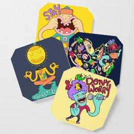 Positivity coasters Coaster