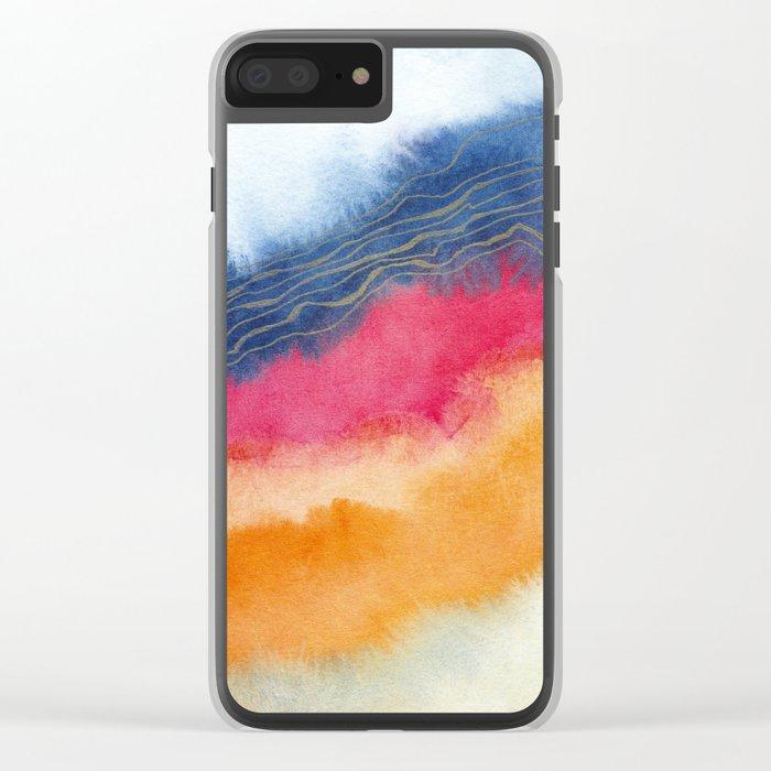 Improvisation 63 Clear iPhone Case