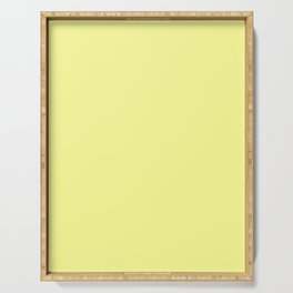 Pastel Yellow Serving Tray