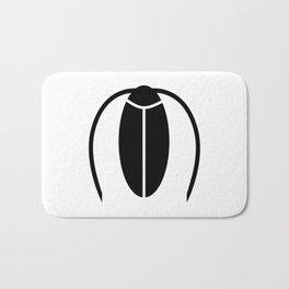 Bugs: abstract Cockroach Bath Mat