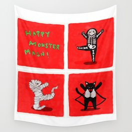 Happy Monster Mash! Wall Tapestry