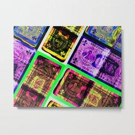 Colorful dollars Metal Print