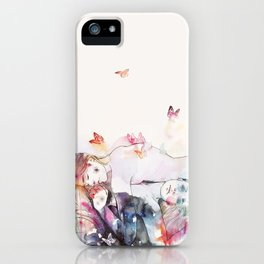 dreamy insomnia iPhone Case