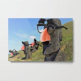 Groucho Island Metal Print