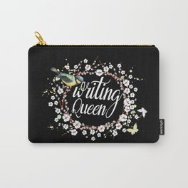 Writing Queen Carry-All Pouch