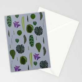 A non-scientific botanical investigation of the indoor plant. Stationery Cards