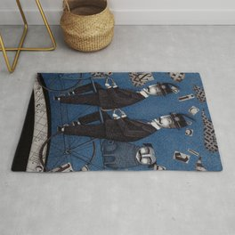 Two Men Travelling Rug